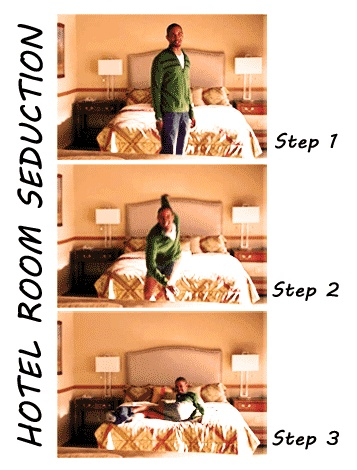 Hotel Room Seduction.