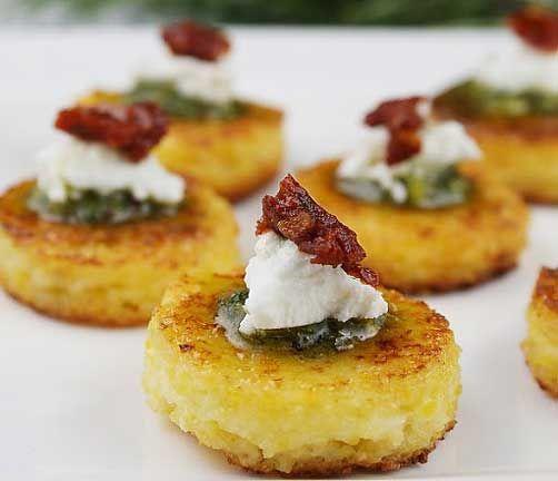 ... - Polenta on Pinterest | Polenta cakes, Polenta fries and Sausages