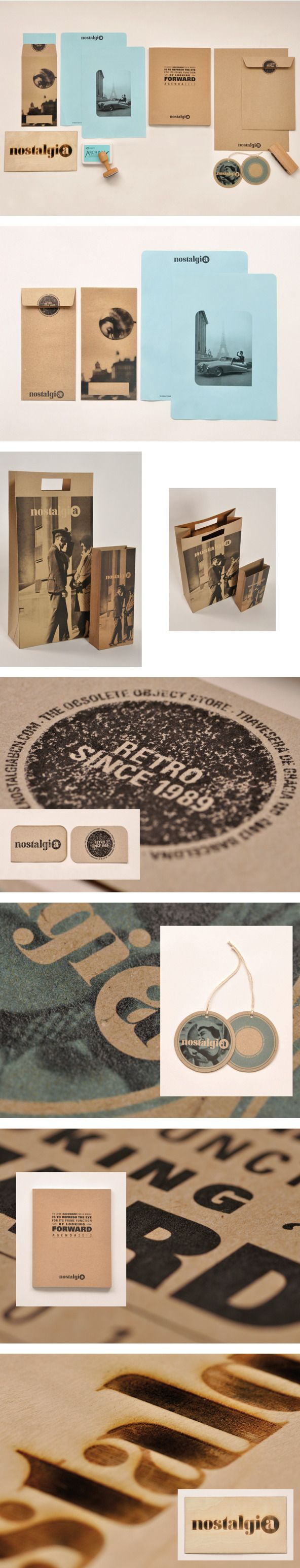 Nostalgia by Dharani Bassols #identity #packaging #branding PD