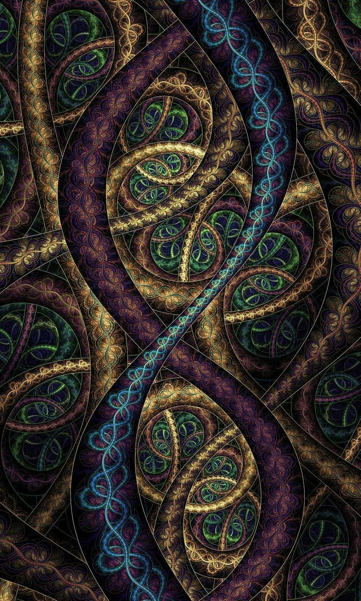 Art Design Mobile Wallpapers Hd Fractal Design Dont Touch My Phone Wallpapers Android Wallpaper