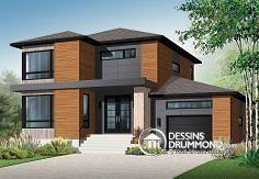 Plan de maison no. W3713-V1 de dessinsdrummond.com