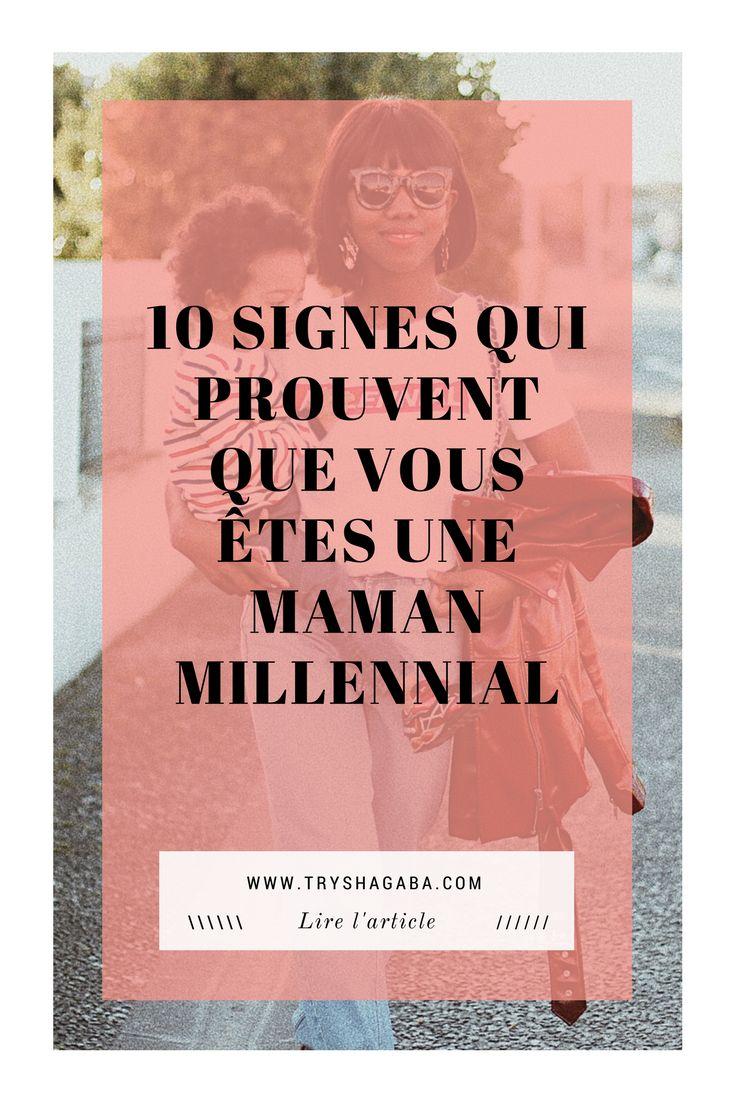 10 signes qui prouvent que vous êtes une maman millennial