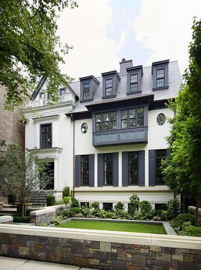 The White House My Favorite Exterior Paint Combinations La Dolce Vita