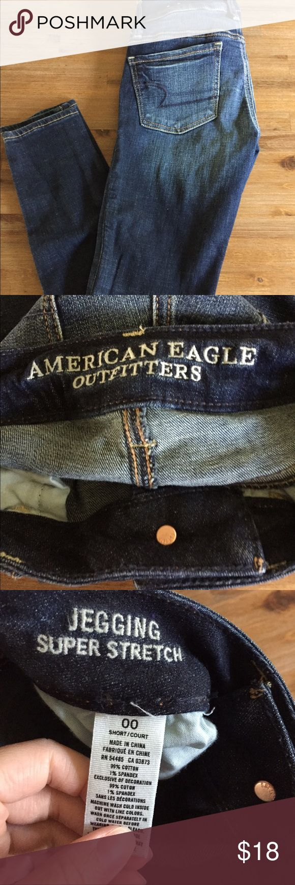 ⛄️SALE❄️ American Eagle Jegging American Eagle jeggings size 00 Short. Worn a few times in excellent condition. ‼️ NO TRADES ‼️ American Eagle Outfitters Pants