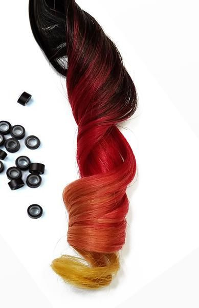 2440 best red hair extensions images on pinterest body wave buy ombre human hair extensions clip in with dark root color ombre red and yellow tips pmusecretfo Choice Image