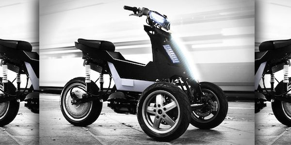 #Iwant1 Introducing Sway: This 3-Wheeled Electric Scooter Combines A Segway With The Fun And Speed Of An ATV (Video)