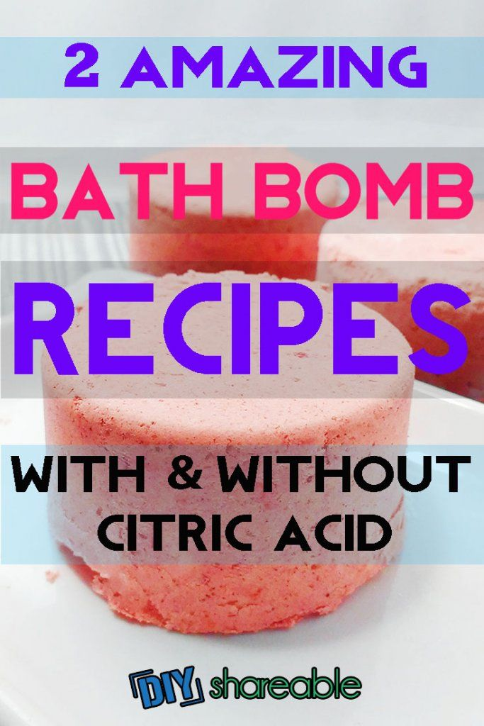How to make lush bath bombs in an hour or less, including a bath bomb recipe without citric acid. Easy to make with readily available bath bomb ingredients.