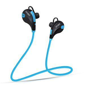 SENDIS Écouteur Bluetooth 4,1 Stéréo avec Micro Sans Fil Oreillette de Sport pour iPhone, Android, Windows Smartphones et Autres Appareils…