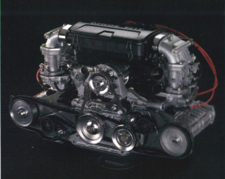 Alfa Romeo 33 Boxer engine 1.7L