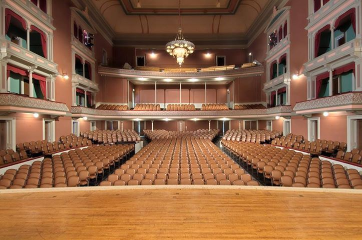 16 best troy music hall images on pinterest fun facts for Bank ballroom with beautiful mural nyc