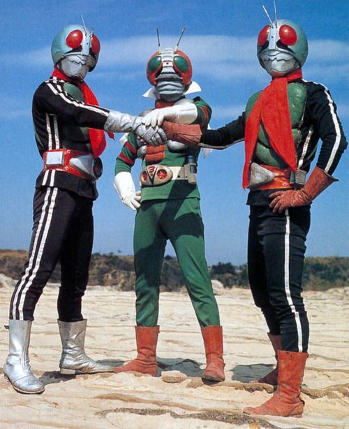 Kamen Rider 1 & 2, Kamen Rider V3 | 仮面ライダー1号、2号、V3