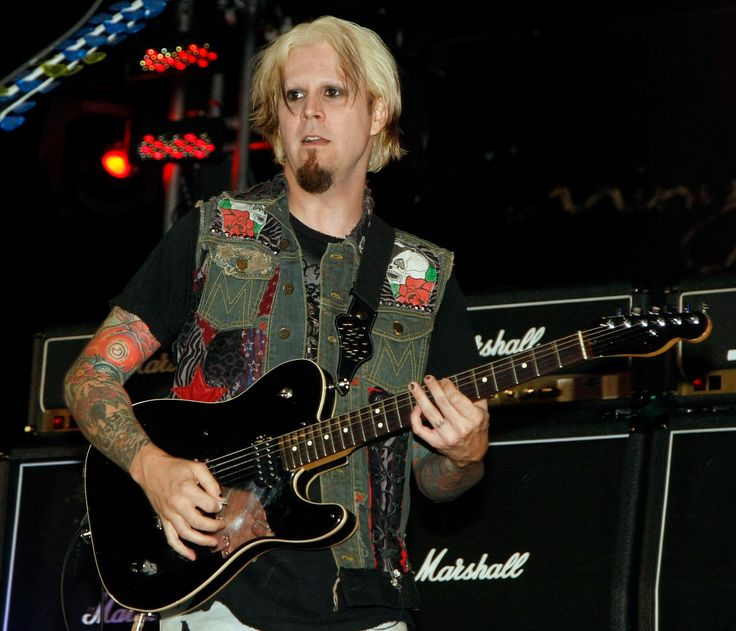 John 5 performs during a concert at the Bare Pool Lounge at The Mirage Hotel & Casino to celebrate the resort's 20th anniversary October 2, 2009 in Las Vegas,