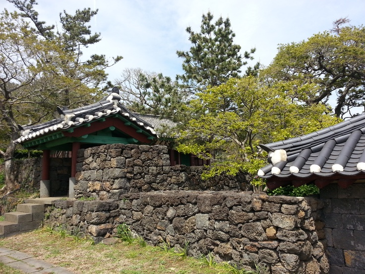 [Jeju] Daejeong Confucian School, built in 1420, moved here in 1653
