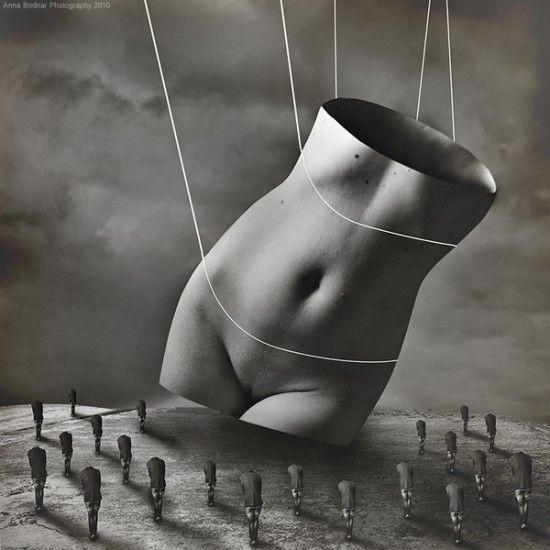 de Anna BODNAR .... Totalement surrealist