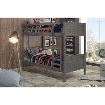 Manhattan Comfort Empire Twin Bunk Bed & Reviews | Wayfair