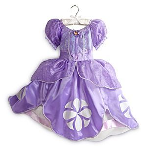 Disney Sofia Costume for Girls | Disney StoreSofia Costume for Girls - Just like Sofia, your little one will feel like a princess in this regal costume. Layers of satin and organza, detailed with glitter and iridescent embroidered trim, will provide a lesson in style for your princess in training.