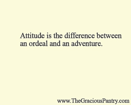 Attitude is the difference between an ordeal or and an adventure !! @BetterKidsTV