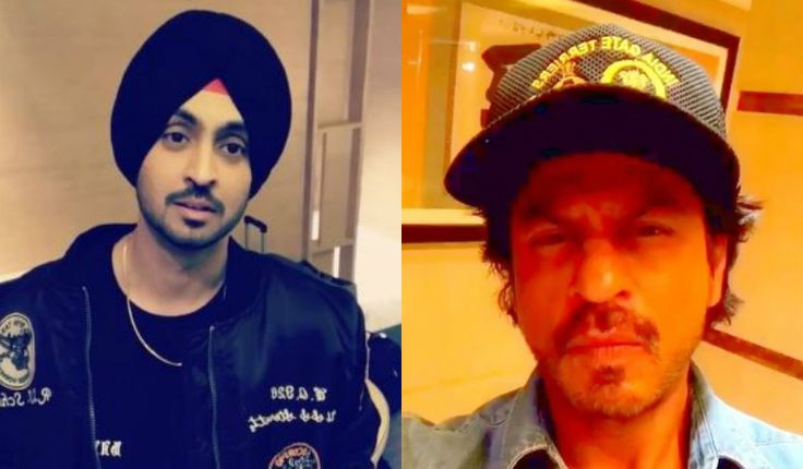 Shah Rukh Khan & Diljit Dosanjh had a video conversation on Instagram and it's Super Cute