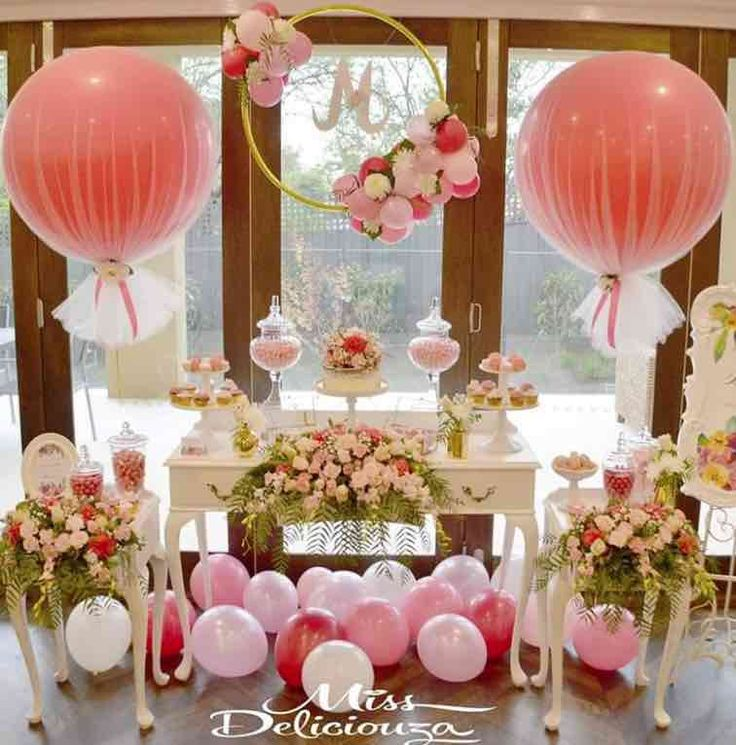 25 best ideas about chic bridal showers on pinterest for Simple party decorations at home