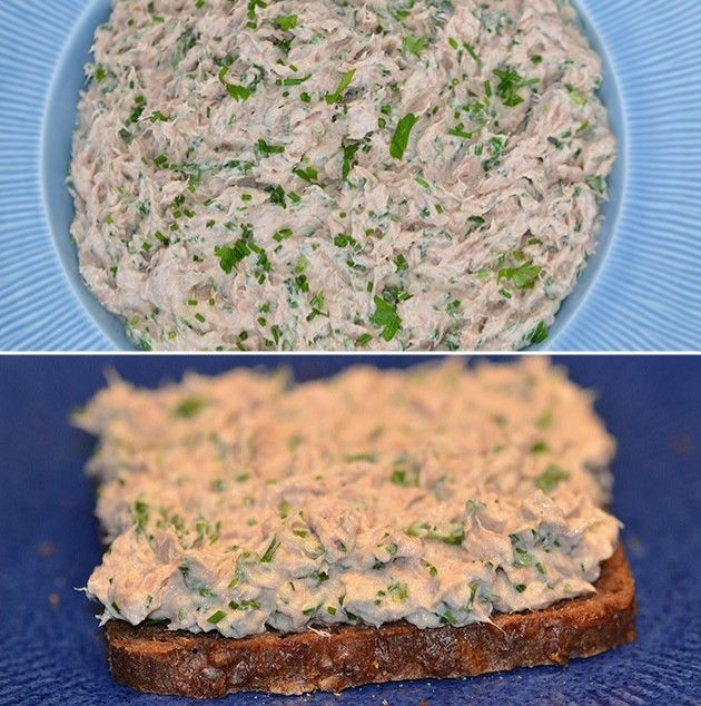 Herlig tunsalat i en fedtfattig udgave, hvor der er brugt skyr i stedet for mayonnaise.