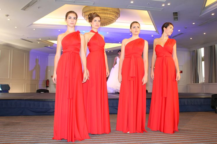 Mi Boda Rocks Experience & Rojo Carmesí Bridesmaid in Crimson Red #rojocarmesi #convertibledress