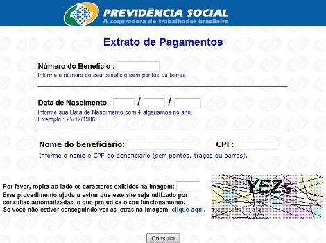 Inss Dataprev - Consulta Extratos de Pagamentos Benefícios, Requerimentos 2