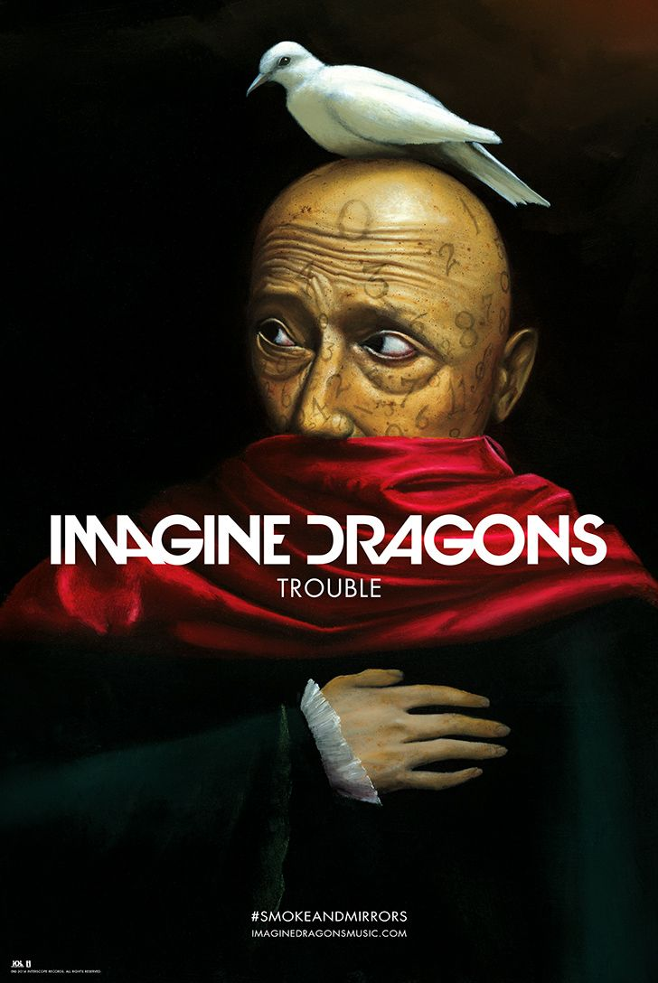 Trouble Exclusive Lithograph | Imagine Dragons