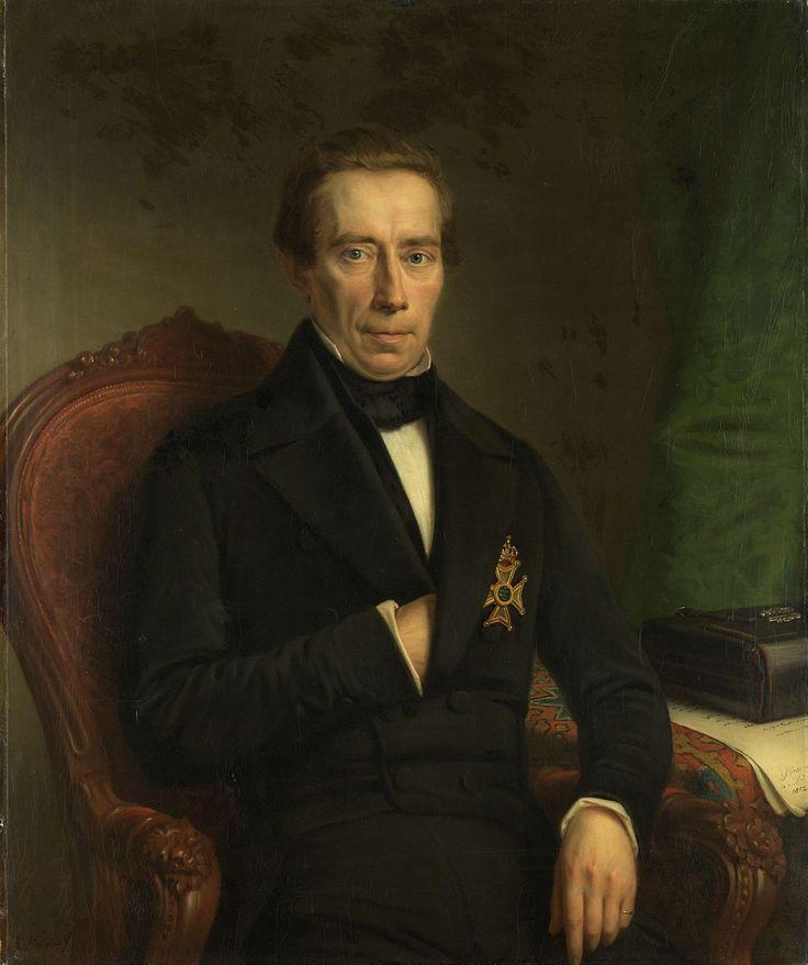 Johan Rudolf Thorbecke (1796-1872). Minister van Staat en minister van binnenlandse zaken, Johan Heinrich Neuman, 1852