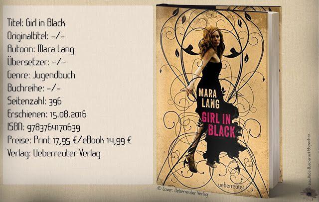 """Dieses Buch hat mich ab der ersten Seite gefesselt ...  Kurzfazit: """"Girl in Black"""" von Mara Lang hat mich gefesselt ab der ersten Seite. Eine spannende Mafiastory, ein bezauberndes Modefeeling von Haute Couture bishin zu Gothic, vielschichtige Charakteren und eine Liebesgeschichte, bescherten mir aufregende Lesestunden. Ein Pageturner trotz kleineren Schwächen in den Emotionen! ~ mitreißend ~ detailliert ~ spannende Wendungen mit Action."""