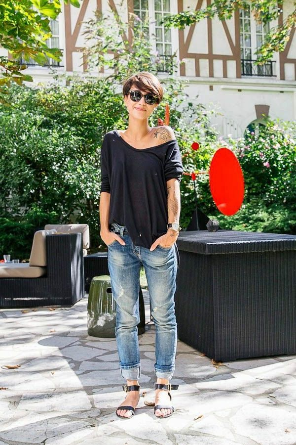 Boyfriend jeans – 70 ideas on how to wear them? – Archzine.fr – #Archzinefr #Boy …   – Kochen