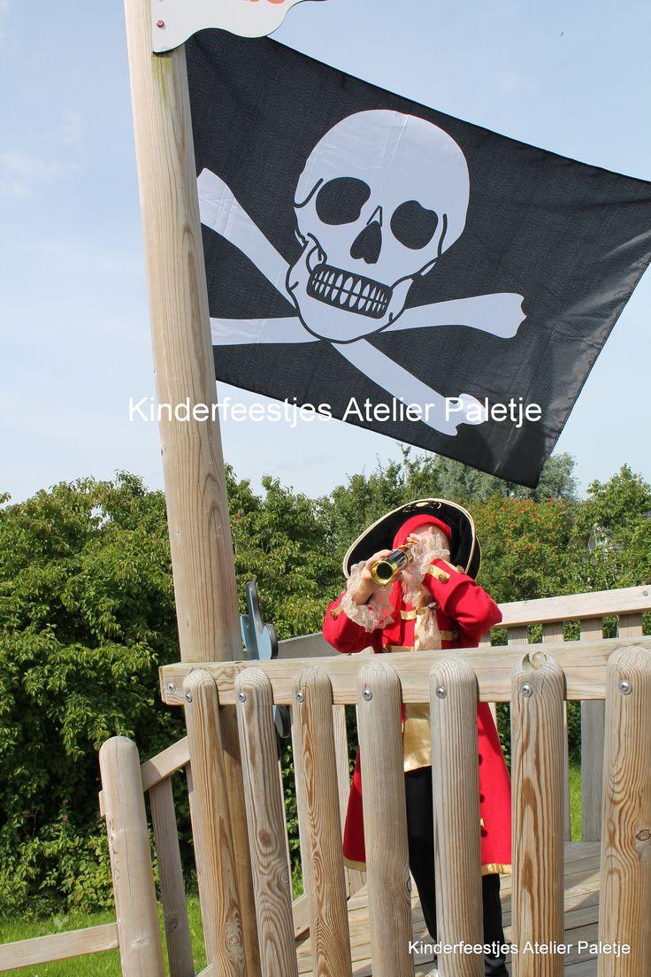 Piraten verkleedfeestje
