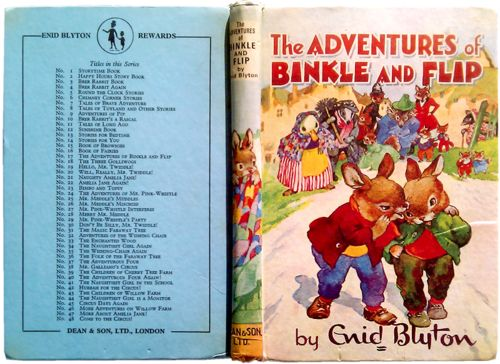 The Adventures of Binkle and Flip by Enid Blyton. [Published 1967 by Dean and Son Ltd]