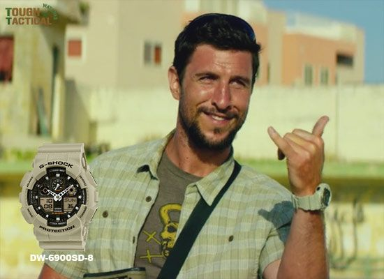 Casio G-Shock DW-6900SD-8 in 13 Hours: The Secret Soldiers of Benghazi movie