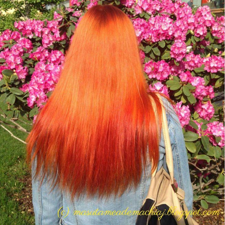 girl, mmdm, redhair, red,redhead, ginger, long hair, orange, orange hair, flowers,