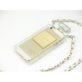 chanel iphone 5 case with chain - Google Search