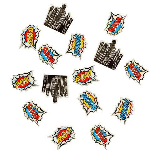 Tischkonfetti – Pop Art Superhero