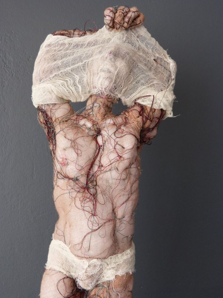 Anne Bothuon - Sculpture - Textile - Art