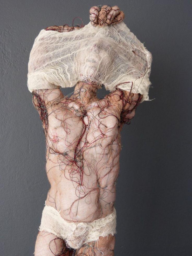 Anne Bothuon - Sculpture - Textile - Art
