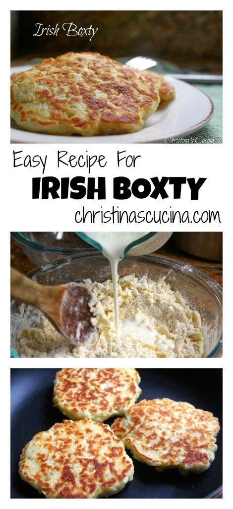 Irish Boxty Collage