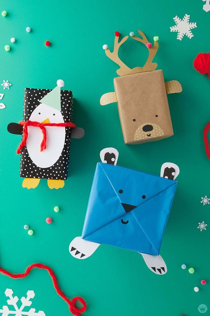 Enjoyable and straightforward children vacation present wrap concepts