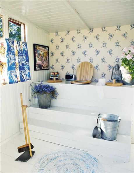 Beautiful summer home from the swedish Sköna Hem magazine