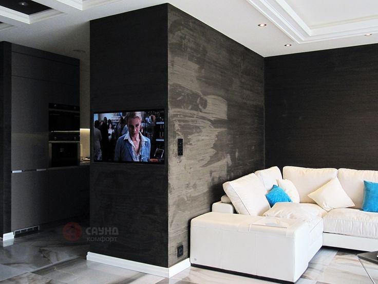 Находка дизайнера - встроенный телевизор