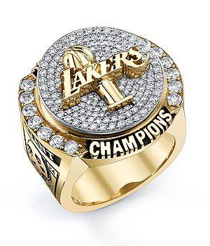 Lakers Championship Ring