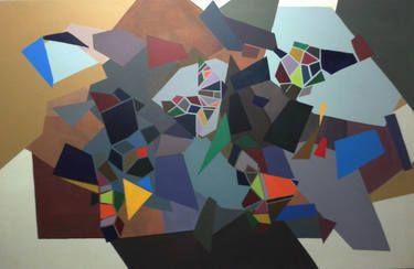 "Saatchi Art Artist NIKOS LAMPRINOS; Painting, ""painting"" #art"