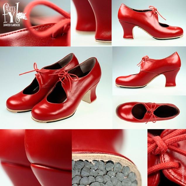 Artefyl. Handmeda Flamenco Shoe