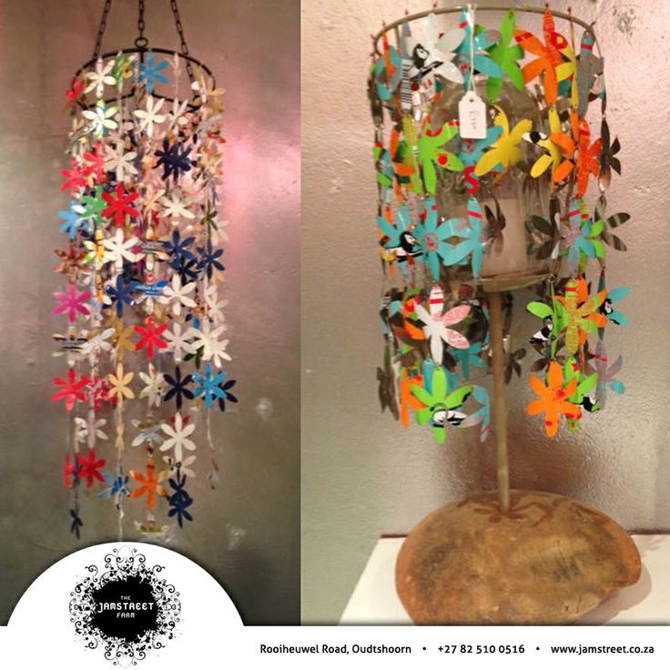 You'd be amazed at the absolutely gorgeous products available at Jamstreet - we'd love to hear what you think of these chandelier, made from upcycled components #upcycling #reuse #chandeliers