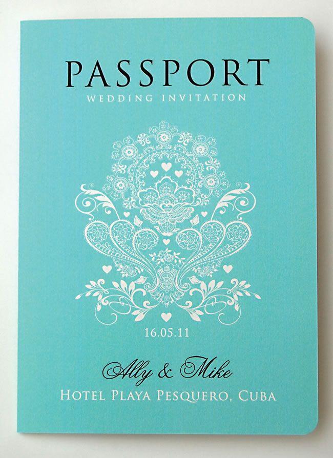 Para novios viajeros, nada mejor que unas invitaciones como éstas!! ideasparatuboda.wix.com/planeatuboda