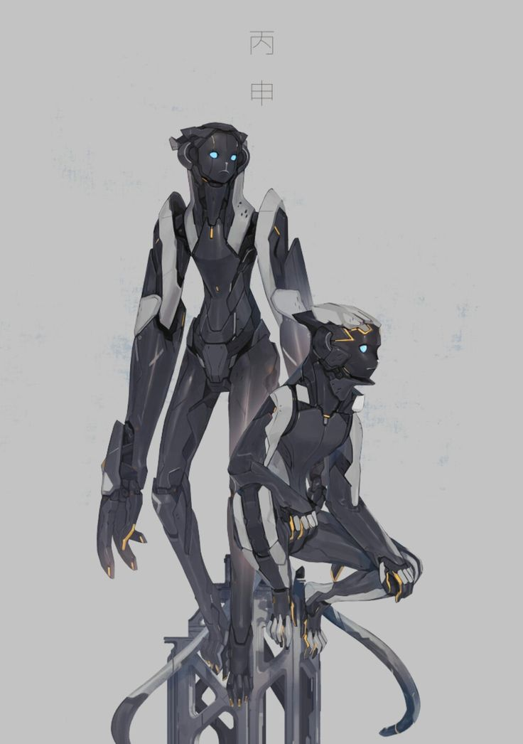 Sci Fi Character Design Tutorial : Best scifi robot images on pinterest cyberpunk