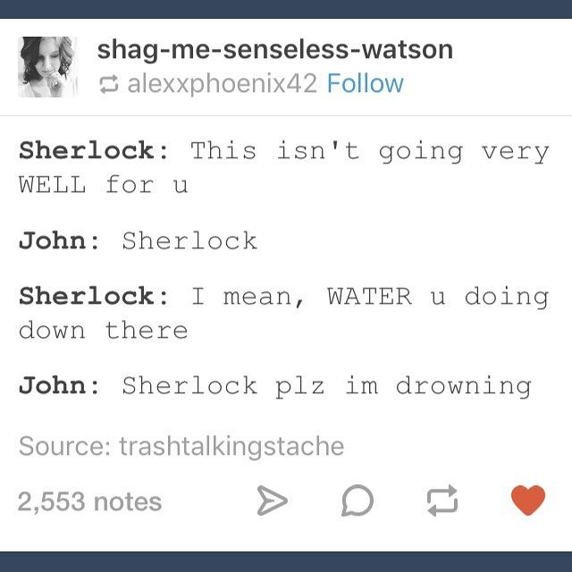 Sherlock making puns about The Final Problem - I DON'T KNOW IF TO LAUGH OR CRY.