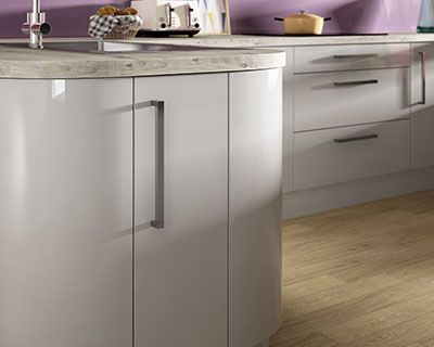 Glencoe Pewter Kitchen - Wickes